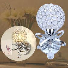 <b>Crystal Modern Wall Lighting</b> Fixtures for sale | eBay