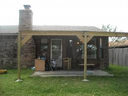 how to build a shed roof patio cover