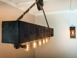 reclaimed lighting fixtures wood beam light fixture attractive wooden fixtures intended for reclaimed chandelier lighting