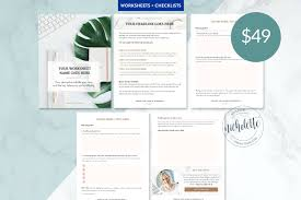 Checklist Design Template Worksheet And Checklists By Nicholette Styles On