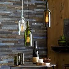 wine bottle lighting. Modren Wine Repurposed Alcohol Bottle Lamps Inside Wine Lighting