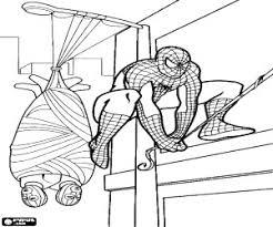 Disegno Di Spiderman L Uomo Ragno A Colori Per Bambini Avec