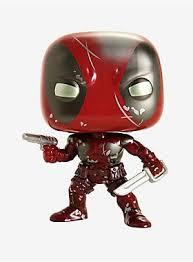 <b>Funko Pop</b>! Marvel 80th Anniversary <b>Deadpool</b> Damaged First ...