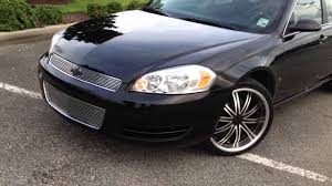 08 Chevy impala custom billet grille - YouTube