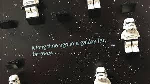 lego star wars minifigure display frame galaxy
