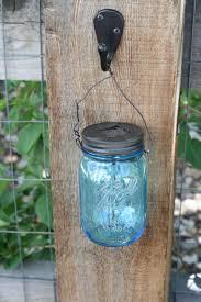 impeccable mason jar solar light diy thriftdee a diy outdoor mason jar chandelier as wells as
