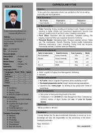 One Page Resume Format Doc 2 Page Resume Format Template Free Templates For Office