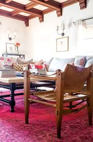 start with a rug when you decorate