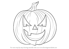 pumpkin drawing. full size of coloring page:cute how to draw pumpkin halloween step 0 page large drawing