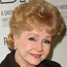 actress debbie reynolds has starred in over 50 s including the clic singing in