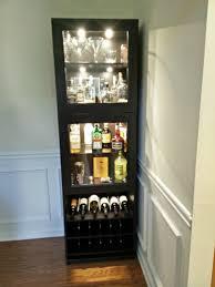 Furniture Under Cabinet Wine Glass Rack Ikea Wine Rack Built Next
