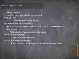 Infopath Form Templates Download Introduction To Infopath 2010