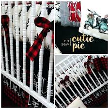 buffalo plaid crib bedding buffalo plaid lumberjack plaid holiday baby by buffalo plaid crib bedding set