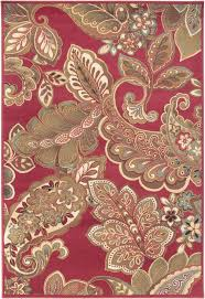 surya riley rly 5020 red area rug