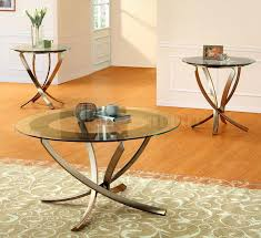 decor and round occasional glass top coffee table set glass coffee table sets table metal frames for tables