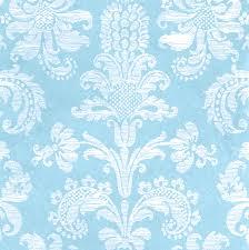 46+] Light Blue Damask Wallpaper on ...