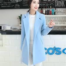 light winter coat blue wool pink womens