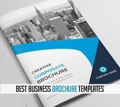 best business brochures best business brochure templates design graphic design junction