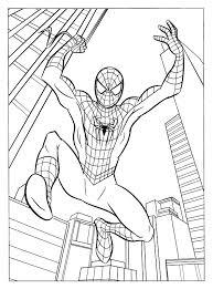Disegni Da Colorare Di Spiderman Disegni Da Colorare