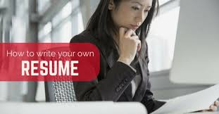 How to Write your own Perfect Resume: 18 Great Tips - WiseStep how to write own resume