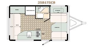 travel trailer floor plans. Bigfoot RV Travel Trailer Floor Plans