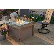 OGR  Outdoor GreatRoom Company Pine Ridge Fire Table SquareOutdoor Great Room
