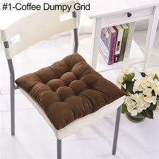 tie on chunky seat pad chair cushion pads