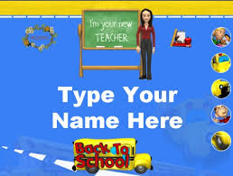 Open House Powerpoint Back To School Powerpoint Lesson Plans And Activities