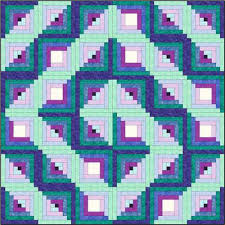 Log Cabin Quilt Patterns Best Design A Log Cabin Quilt Pattern That Starts With A Picture