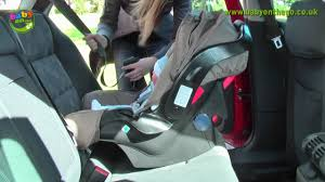 graco junior baby car seat rear facing seat fitting guide you