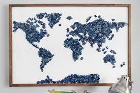 diy puzzle wall art