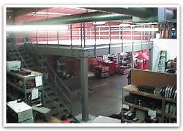 warehouse mezzanine modular office. Modular Steel Mezzanines Warehouse Mezzanine Office E