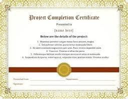 Certificate Of Completion Wording Examples Ojt Sample For Students ...
