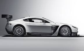 2012 Aston Martin V12 Vantage GT3 Side View  O