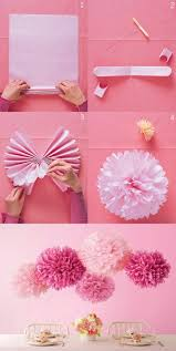 How To Make Tissue Paper Balls Decorations Inspiration 32 Cheap And Easy Ways To Decorate Your Dorm Great Ideas