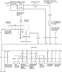 2001 civic coupe audio stereo sound system circuit diagram