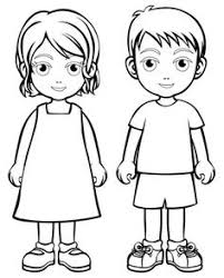 Small Picture coloring in picture of boys and girls clothing Google Search