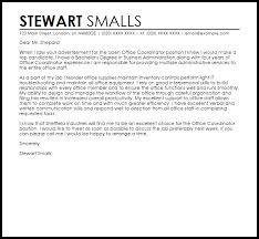 Help Desk Coordinator Resume Best Cover Letter For Office Coordinator Heartimpulsarco