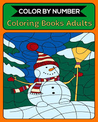Hi everyone!this is a simple worksheet i've prepared for young learners to revise numbers and colours. Color By Number Coloring Books Adults 50 Unique Color By Number Design For Drawing And Coloring Stress Relieving Designs For Adults Relaxation Creative Haven Color By Number Books Publishing Royal Activity 9781691451609