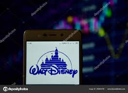 Disney Conglomerate Chart Walt Disney Logo Seen On The Smartphone Stock Editorial