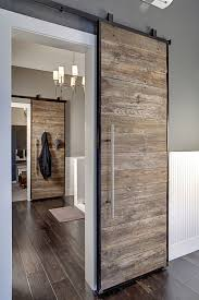 Sliding Barn Doors from Reclaimed Dock | Lavallee Construction