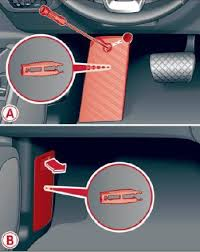 audi a4 b9 2015 fuse box location and fuses list 1 fuse box on driver footwell front passenger footwell