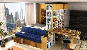 how to turn a living room into a bedroom add a platform bed with storage
