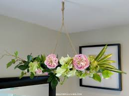 silk fl chandelier angled beauteeful living