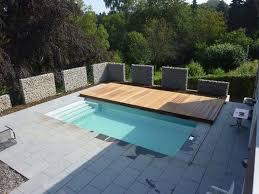 Wood Deck Sliding Pool Ideas
