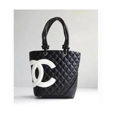CHANEL CAMBON QUILTED LEATHER BUCKET HANDBAG IN BLACK OR WHI ... & CHANEL CAMBON QUILTED LEATHER BUCKET HANDBAG IN BLACK OR WHITE WITH CC. Adamdwight.com