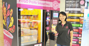 Smoothie Vending Machine Inspiration Fitgo Smoothie By Nuvend M'sia's First Smoothie Vending Machine