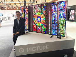 samsung tv qled price. sea forum 2017: samsung electronics ushers in a new era of home entertainment with qled tv tv qled price d