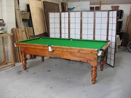 Pool And Dining Table Pool Table Dining Table Combo Game Room 7 Ft Pool Table W Table