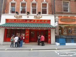 chinese restaurant outside.  Chinese Outside New World Chinese Restaurant On N